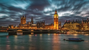 Big Ben en Westminster bridge