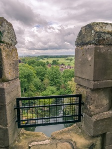 View from Warwick Castle to the South